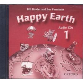 Happy Earth 1: Class Audio CDs (аудіодиск) - фото книги