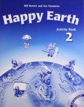 Happy Earth 2: Activity Book with MultiROM - фото обкладинки книги