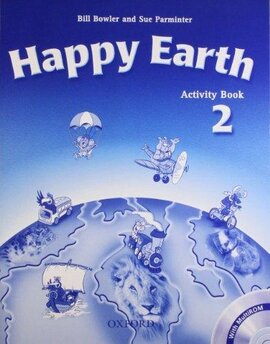 Happy Earth 2: Activity Book with MultiROM - фото книги