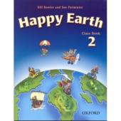 Happy Earth 2: Class Book (підручник) - фото обкладинки книги