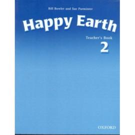Happy Earth 2: Teacher's Book(книга вчителя) - фото книги