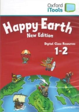Happy Earth New 1&2: iTools (диск для інтерактивної дошки) - фото книги