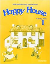 Happy House 1: Activity Book - фото обкладинки книги