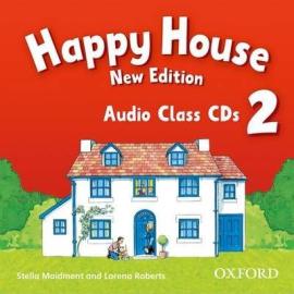 Happy House 2 Class Audio CD (аудіодиск) - фото книги