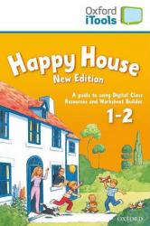 Happy House New 1&2: iTools (диск для інтерактивної дошки) - фото обкладинки книги