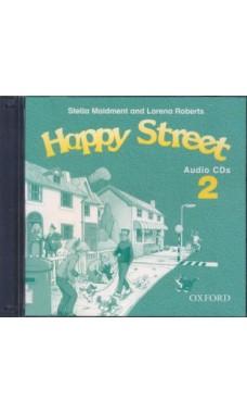 Happy Street 2: Class Audio CDs (аудіодиск) - фото книги