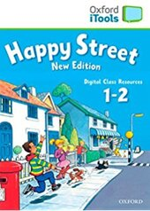 Happy Street New 1&2: iTools (диск для інтерактивної дошки) - фото обкладинки книги