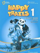 Happy Trails 1. Activity Book with overprint Key - фото обкладинки книги