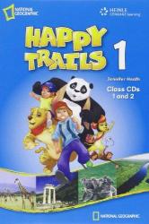 Happy Trails 1. Class Audio CDs (набір із 2 аудіодисків ) - фото обкладинки книги