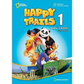 Happy Trails 1. Pupils Book with CD - фото книги