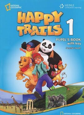 Happy Trails 1. Pupils Book with overprint Key - фото книги