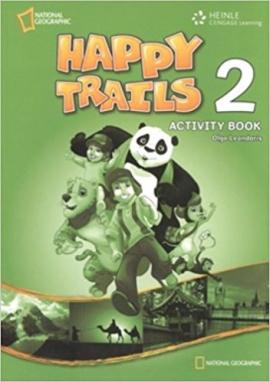 Happy Trails 2. Activity Book - фото книги