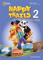 Happy Trails 2. Activity Book with overprint Key - фото обкладинки книги