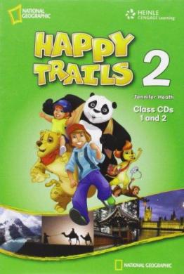 Happy Trails 2. Class Audio CDs (набір із 2 аудіодисків ) - фото книги