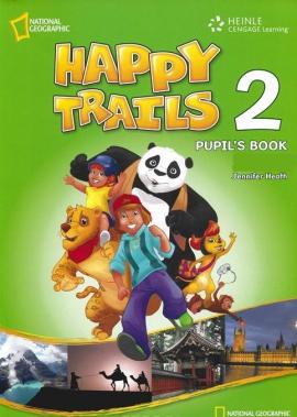 Happy Trails 2. Pupils Book with CD - фото книги