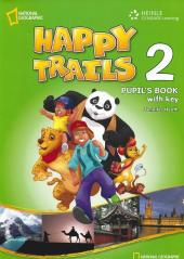Happy Trails 2. Pupils Book with overprint Key - фото обкладинки книги