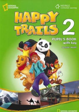 Happy Trails 2. Pupils Book with overprint Key - фото книги