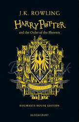 Harry Potter 5 Order of the Phoenix - Hufflepuff Edition Hardcover - фото обкладинки книги