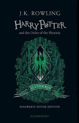 Harry Potter 5 Order of the Phoenix - Slytherin Edition Hardcover - фото обкладинки книги