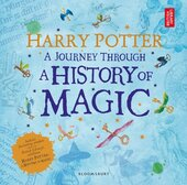 Harry Potter - A Journey Through. A History of Magic - фото обкладинки книги
