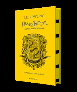 Harry Potter and the Chamber of Secrets (Hufflepuff Edition). The 1st book (тверда обкладинка) - фото книги