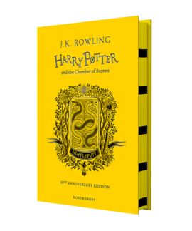 Harry Potter and the Chamber of Secrets (Hufflepuff Edition). The 1st book (тверда обкладинка) - фото книги