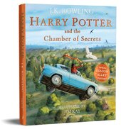 Harry Potter and the Chamber of Secrets. Illustrated Edition - фото обкладинки книги