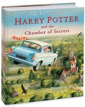 Harry Potter and the Chamber of Secrets (Illustrated Edition) - фото обкладинки книги