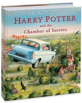 Harry Potter and the Chamber of Secrets (Illustrated Edition) - фото книги