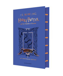 Harry Potter and the Chamber of Secrets (Ravenclaw Edition). The 1st book (тверда обкладинка) - фото книги