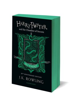 Harry Potter and the Chamber of Secrets (Slytherin Edition). The 1st book (м'яка обкладинка) - фото книги