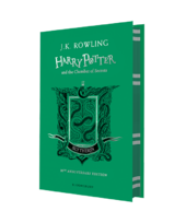 Harry Potter and the Chamber of Secrets (Slytherin Edition). The 1st book (тверда обкладинка) - фото обкладинки книги