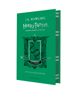 Harry Potter and the Chamber of Secrets (Slytherin Edition). The 1st book (тверда обкладинка) - фото книги