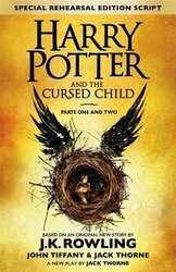 Harry Potter and the Cursed Child - Parts I & II : The Official Script Book of the Original West End Production - фото обкладинки книги