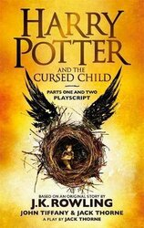 Harry Potter and the Cursed Child - Parts One and Two : The Official Playscript of the Original West End Production - фото обкладинки книги