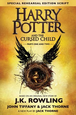 Harry Potter and the Cursed Child - Parts One & Two - фото книги
