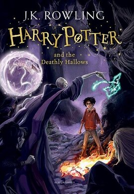 Harry Potter and the Deathly Hallows. The 7th book. Paperback - фото книги