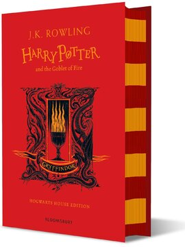 Harry Potter and the Goblet of Fire (Gryffindor Edition). The 4st book. Hardcover - фото книги