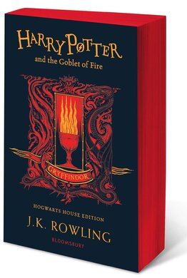 Harry Potter and the Goblet of Fire (Gryffindor Edition). The 4st book. Paperback - фото книги