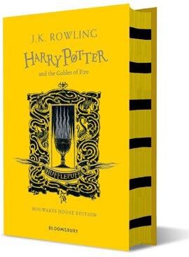 Harry Potter and the Goblet of Fire (Hufflepuff Edition). The 4st book. Hardcover - фото книги