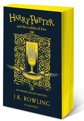 Harry Potter and the Goblet of Fire (Hufflepuff Edition). The 4st book. Paperback - фото обкладинки книги