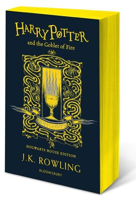 Harry Potter and the Goblet of Fire (Hufflepuff Edition). The 4st book. Paperback - фото книги