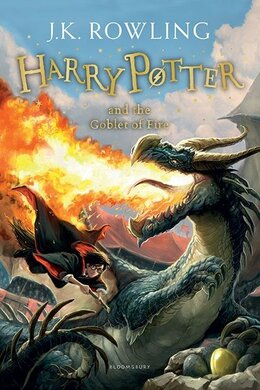 Harry Potter and the Goblet of Fire. Paperback - фото книги