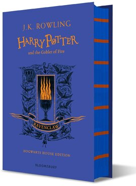 Harry Potter and the Goblet of Fire (Ravenclaw Edition). The 4st book. Hardcover - фото книги
