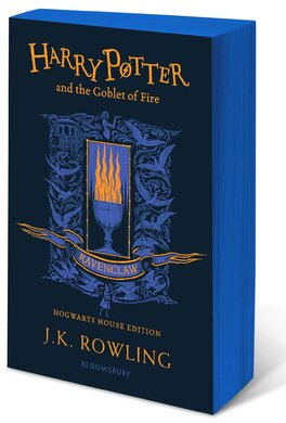 Harry Potter and the Goblet of Fire (Ravenclaw Edition). The 4st book. Paperback - фото книги