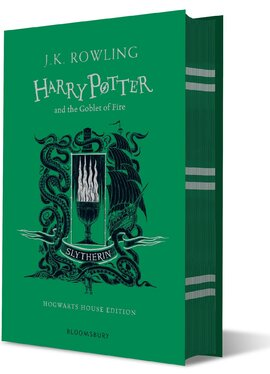 Harry Potter and the Goblet of Fire (Slytherin Edition). The 4st book. Hardcover - фото книги