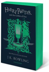 Harry Potter and the Goblet of Fire (Slytherin Edition). The 4st book. Paperback - фото обкладинки книги