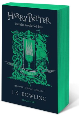 Harry Potter and the Goblet of Fire (Slytherin Edition). The 4st book. Paperback - фото книги