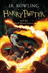 Harry Potter and the Half-Blood Prince. The 6th book - фото обкладинки книги