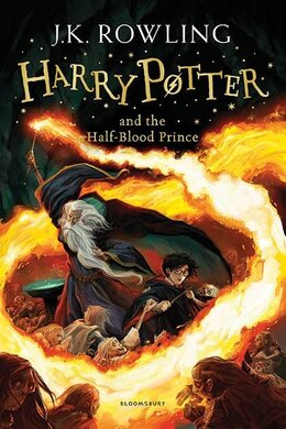 Harry Potter and the Half-Blood Prince. The 6th book. Paperback - фото книги